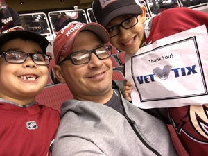 Click To Read More Feedback from Arizona Coyotes vs. Detroit Red Wings - NHL