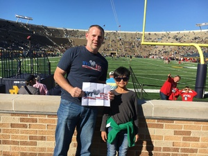 Click To Read More Feedback from Notre Dame Fighting Irish vs. Miami (ohio) - NCAA Football