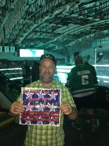 Randy attended Dallas Stars vs. Colorado Avalanche - NHL on Oct 14th 2017 via VetTix