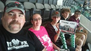 James attended Dallas Stars vs. Colorado Avalanche - NHL on Oct 14th 2017 via VetTix