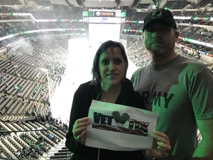 janet attended Dallas Stars vs. Colorado Avalanche - NHL on Oct 14th 2017 via VetTix