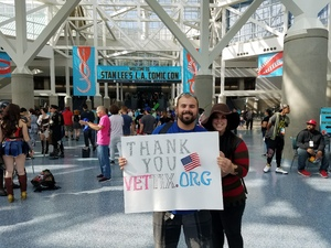 lance attended Stan Lee's Los Angeles Comic Con - Tickets Are Good for All 3 Days on Oct 27th 2017 via VetTix