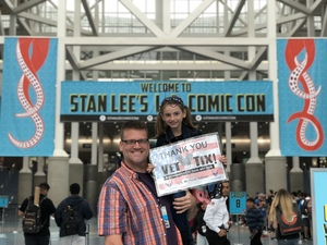 Click To Read More Feedback from Stan Lee's Los Angeles Comic Con - Tickets Are Good for All 3 Days