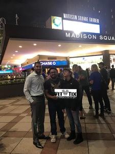 paul attended New York Knicks vs. Houston Rockets - Pre-season NBA on Oct 9th 2017 via VetTix