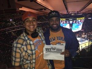 Randy attended New York Knicks vs. Houston Rockets - Pre-season NBA on Oct 9th 2017 via VetTix