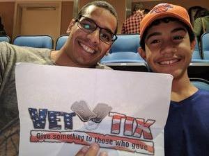 Roman attended New York Knicks vs. Houston Rockets - Pre-season NBA on Oct 9th 2017 via VetTix