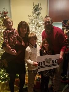 Gabe attended A Colorado Nutcracker - Performed by Colorado Youth Ballet - Thursday on Dec 21st 2017 via VetTix