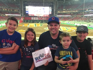 Click To Read More Feedback from Monster Jam - University of Phoenix Stadium