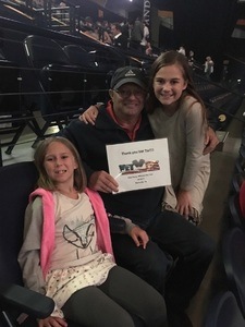 Leonard attended Katy Perry: Witness the Tour on Oct 18th 2017 via VetTix