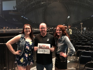 John attended Katy Perry: Witness the Tour on Oct 18th 2017 via VetTix