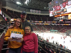 Bob attended New Jersey Devils vs. Washington Capitals - NHL on Oct 13th 2017 via VetTix