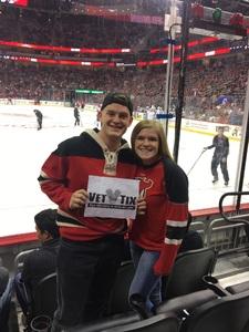 Ryan attended New Jersey Devils vs. Washington Capitals - NHL on Oct 13th 2017 via VetTix