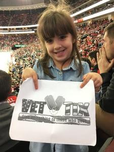 Leyla attended New Jersey Devils vs. Washington Capitals - NHL on Oct 13th 2017 via VetTix