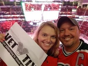 wes attended New Jersey Devils vs. Washington Capitals - NHL on Oct 13th 2017 via VetTix