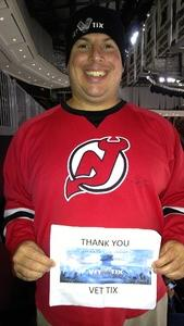 Gregory attended New Jersey Devils vs. Washington Capitals - NHL on Oct 13th 2017 via VetTix