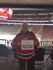Lucie attended New Jersey Devils vs. Washington Capitals - NHL on Oct 13th 2017 via VetTix
