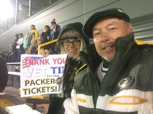 Gary attended Green Bay Packers vs. Detroit Lions - NFL on Nov 6th 2017 via VetTix
