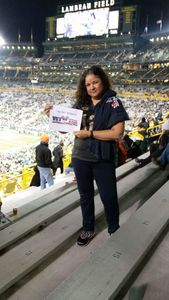 Leonard D attended Green Bay Packers vs. Detroit Lions - NFL on Nov 6th 2017 via VetTix