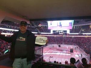 Matthew attended New Jersey Devils vs. Arizona Coyotes - NHL on Oct 28th 2017 via VetTix