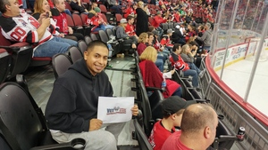 Anthony attended New Jersey Devils vs. Arizona Coyotes - NHL on Oct 28th 2017 via VetTix