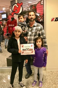 David attended New Jersey Devils vs. Arizona Coyotes - NHL on Oct 28th 2017 via VetTix