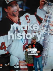 ricardo attended New Jersey Devils vs. Arizona Coyotes - NHL on Oct 28th 2017 via VetTix