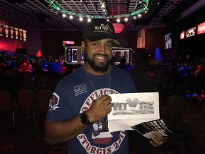 Click To Read More Feedback from CFFC 68 at Borgata Hotel Casino and Spa - Live Mixed Martial Arts - Presented by Alliance MMA and Cage Fury Fighting Championships