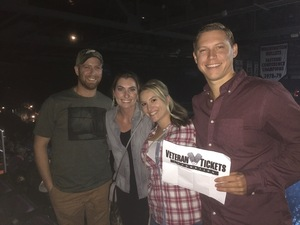 Alexander attended Soul2Soul Tour With Faith Hill and Tim McGraw on Oct 13th 2017 via VetTix
