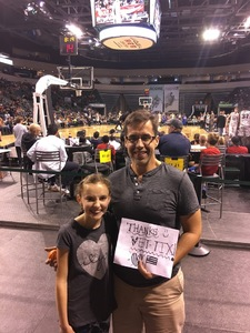Shane J attended Texas Legends vs. Austin Spurs - Veteran Appreciation Game - NBA G-league Basketball - Presented by the Austin Spurs on Nov 4th 2017 via VetTix