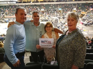 Jim Sepulveda attended Texas Legends vs. Austin Spurs - Veteran Appreciation Game - NBA G-league Basketball - Presented by the Austin Spurs on Nov 4th 2017 via VetTix