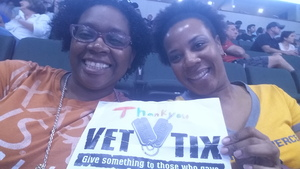 Renita attended Texas Legends vs. Austin Spurs - Veteran Appreciation Game - NBA G-league Basketball - Presented by the Austin Spurs on Nov 4th 2017 via VetTix