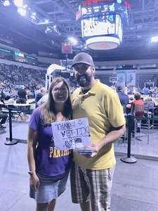 Robin attended Texas Legends vs. Austin Spurs - Veteran Appreciation Game - NBA G-league Basketball - Presented by the Austin Spurs on Nov 4th 2017 via VetTix