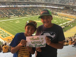 Click To Read More Feedback from Baylor Bears vs. West Virginia - NCAA Football