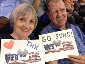 DAVID attended Phoenix Suns vs. Portland Trail Blazers - NBA - Home Opener! on Oct 18th 2017 via VetTix