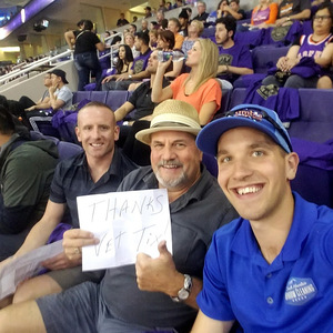 Ronald attended Phoenix Suns vs. Portland Trail Blazers - NBA - Home Opener! on Oct 18th 2017 via VetTix