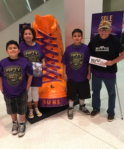 Steve attended Phoenix Suns vs. Portland Trail Blazers - NBA - Home Opener! on Oct 18th 2017 via VetTix
