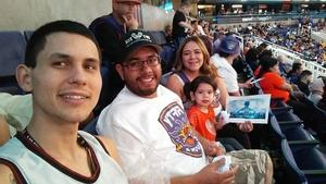 Alvaro attended Phoenix Suns vs. Portland Trail Blazers - NBA - Home Opener! on Oct 18th 2017 via VetTix