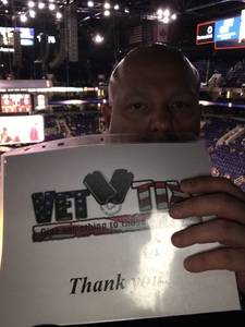 John attended Phoenix Suns vs. Portland Trail Blazers - NBA - Home Opener! on Oct 18th 2017 via VetTix