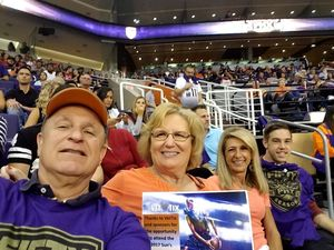 Randell attended Phoenix Suns vs. Portland Trail Blazers - NBA - Home Opener! on Oct 18th 2017 via VetTix
