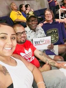 James attended Phoenix Suns vs. Portland Trail Blazers - NBA - Home Opener! on Oct 18th 2017 via VetTix