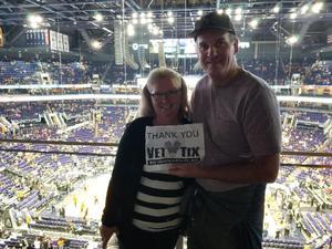 Norb attended Phoenix Suns vs. Portland Trail Blazers - NBA - Home Opener! on Oct 18th 2017 via VetTix