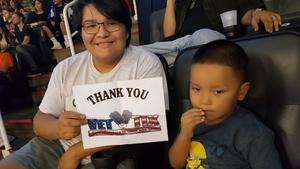 Wil attended Phoenix Suns vs. Portland Trail Blazers - NBA - Home Opener! on Oct 18th 2017 via VetTix