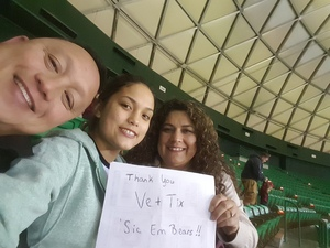 Ronald attended Baylor Bears vs. Lamar - NCAA Womens Basketball - Military Appreciation on Nov 10th 2017 via VetTix