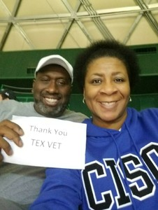Ronald and Pamela attended Baylor Bears vs. Lamar - NCAA Womens Basketball - Military Appreciation on Nov 10th 2017 via VetTix