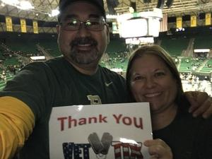 Andrew attended Baylor Bears vs. Lamar - NCAA Womens Basketball - Military Appreciation on Nov 10th 2017 via VetTix