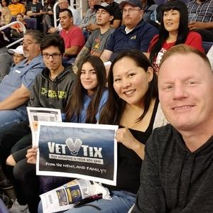 Jared attended Phoenix Suns vs. Brooklyn Nets - NBA on Nov 6th 2017 via VetTix