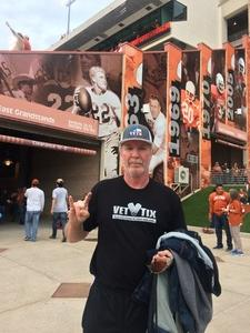 Daniel attended Texas Longhorns vs. Kansas - NCAA Football - Military Appreciation Night on Nov 11th 2017 via VetTix