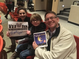 Cory attended The Nutcracker - De LA Lune - Preformed by Olympic Performance Group - Sunday Evening on Dec 17th 2017 via VetTix