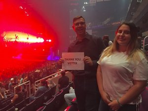 Gregory attended Halsey - Hopeless Fountain Kingdom With Special Guest Party Next Door and Charli Xcx on Oct 31st 2017 via VetTix