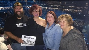 Mark attended Soul2Soul Tour With Faith Hill and Tim McGraw on Oct 27th 2017 via VetTix